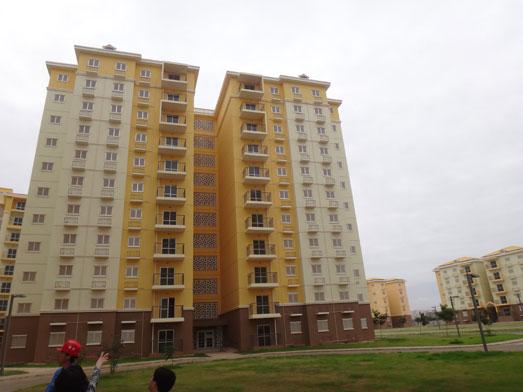 安哥拉社会住宅楼(涂料供应)